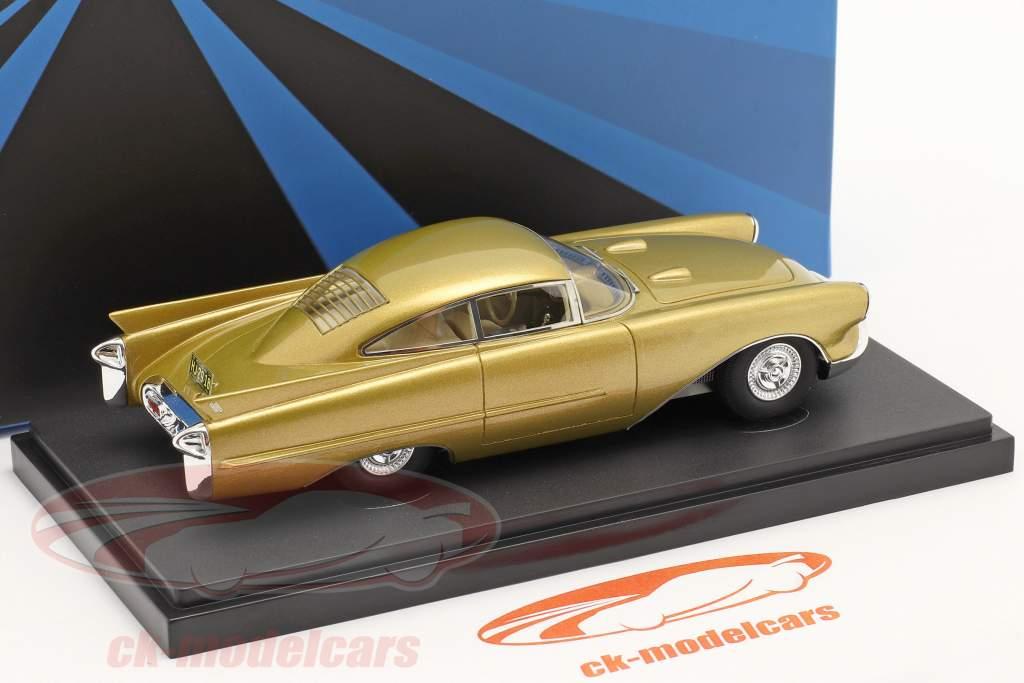 Oldsmobile Cutlass Concept Car Année de construction 1954 or métallique 1:43 AutoCult