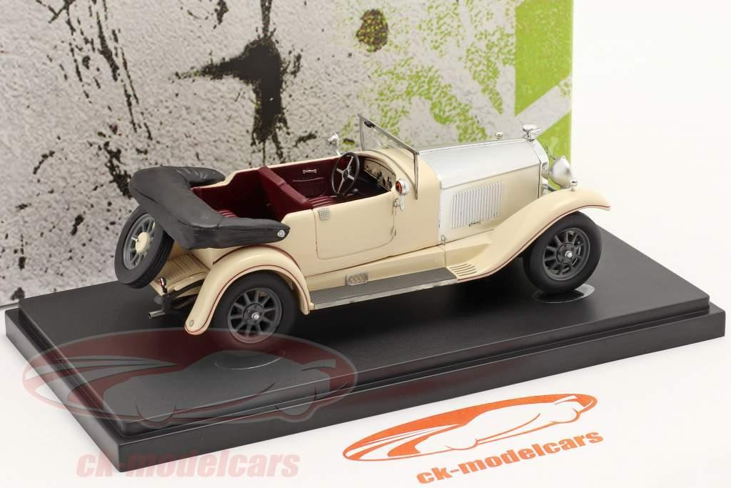 Horch 8/400 Tourer Anno di costruzione 1930 avorio / argento 1:43 AutoCult