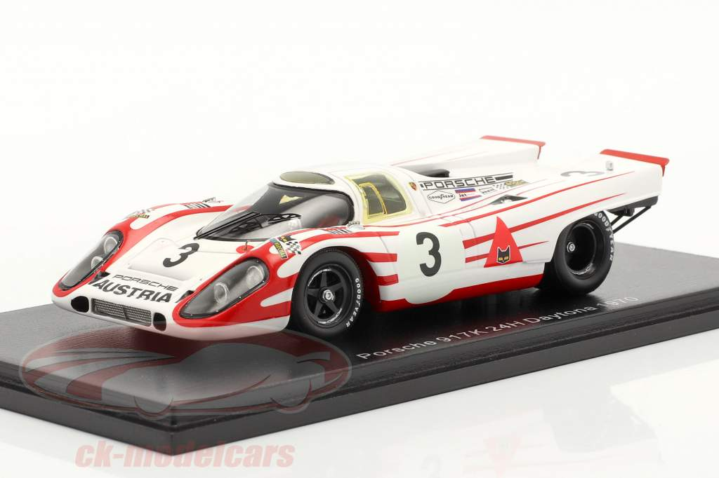 Porsche 917K #3 24h Daytona 1970 Ahrens, Elford 1:43 Spark