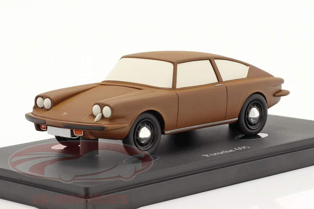 Porsche 695 建設年 1957 褐色 1:43 AutoCult