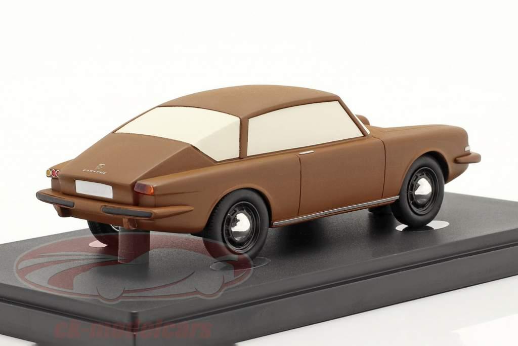 Porsche 695 year 1957 brown 1:43 AutoCult