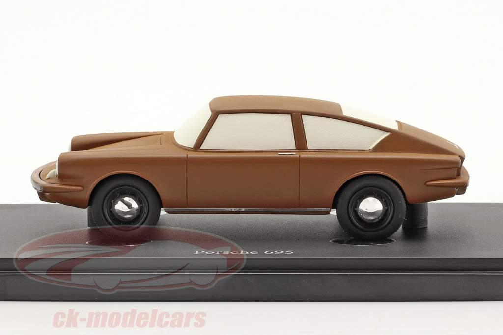 Porsche 695 Ano de construção 1957 Castanho 1:43 AutoCult