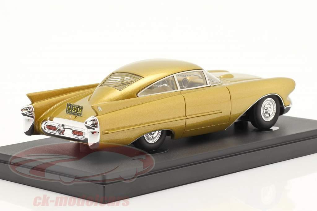 Oldsmobile Cutlass Concept Car year 1954 gold metallic 1:43 AutoCult