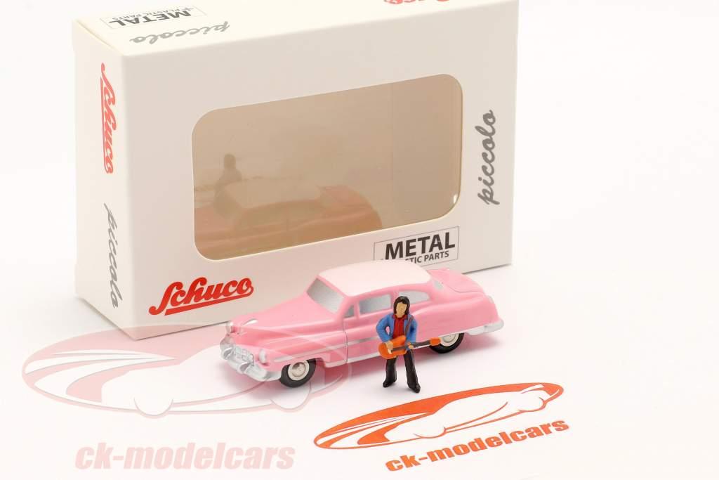 Cadillac Eldorado Elvis The King rose 1:90 Schuco Piccolo