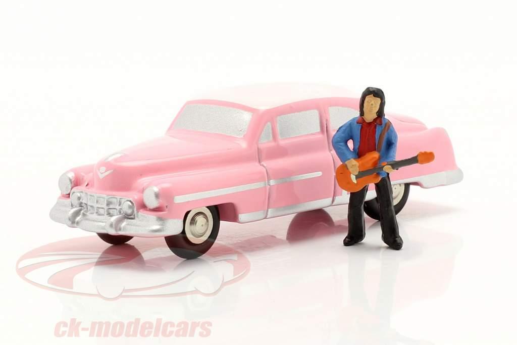 Cadillac Eldorado Elvis The King cor de rosa 1:90 Schuco Piccolo