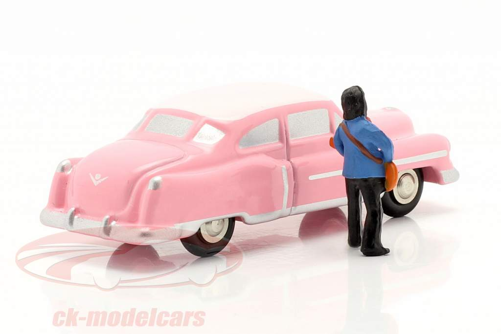 Cadillac Eldorado Elvis The King roze 1:90 Schuco Piccolo