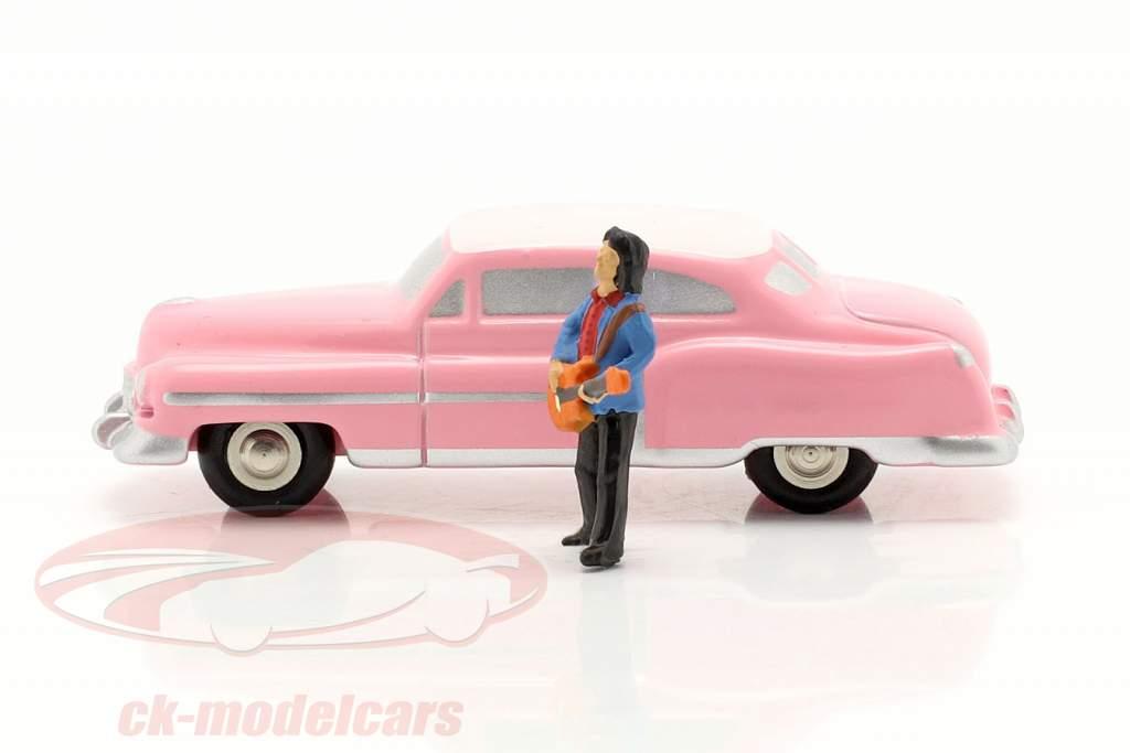 Cadillac Eldorado Elvis The King Rosa 1:90 Schuco Piccolo