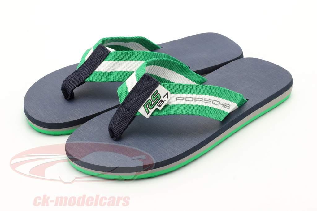 Flip Flops Porsche RS 2.7 Collection grootte 42-44 groen / Wit / donkerblauw