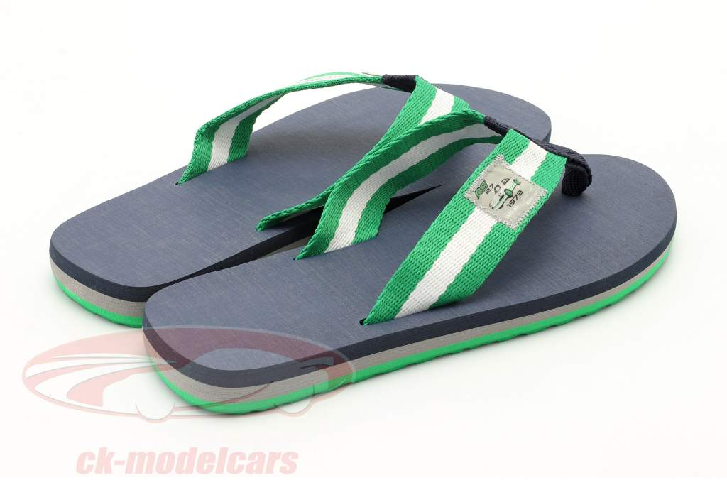 Flip Flops Porsche RS 2.7 Collection Taille 36-38 vert / blanc / bleu foncé
