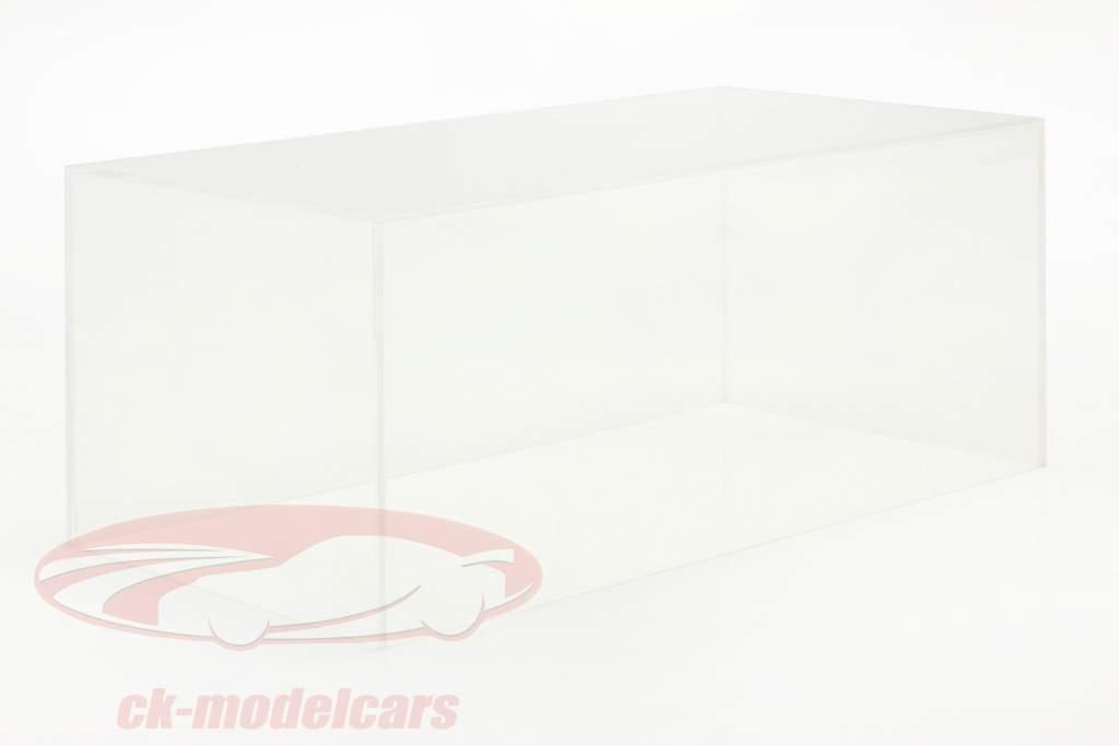haut qualité acrylique couverture vitrine pour voitures de modèle en échelle 1:18 Tecnomodel