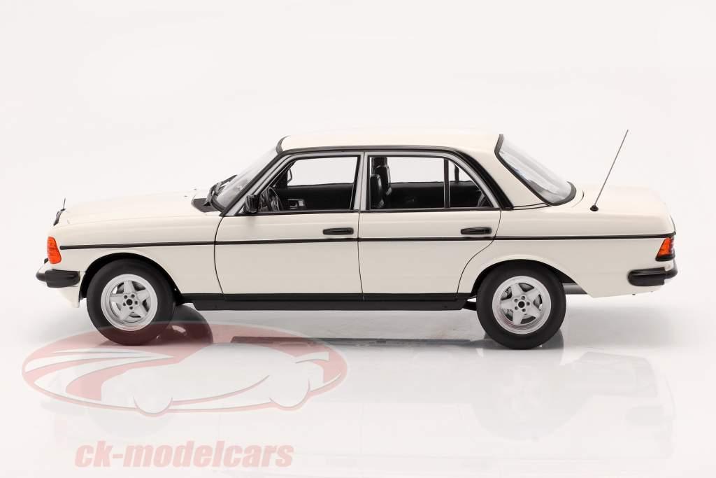 Mercedes-Benz 200 (W123) Byggeår 1980 - 1985 klassisk hvid 1:18 Norev