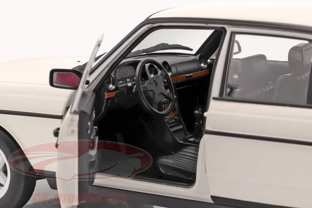 Mercedes-Benz 200 (W123) Año de construcción 1980 - 1985 blanco clásico 1:18 Norev