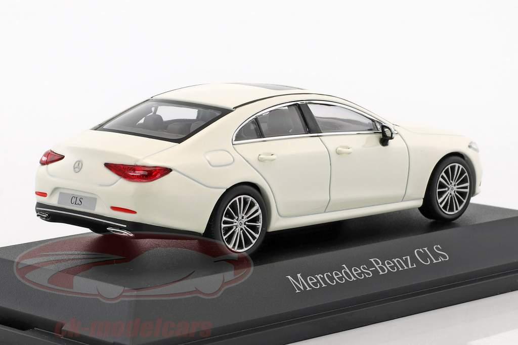 Mercedes-Benz CLS coupe (C257) Bouwjaar 2018 designo diamant wit 1:43 Norev