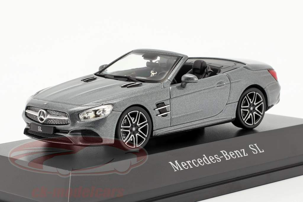 Mercedes-Benz SL MOPF R231 selenito cinza 1:43 Spark
