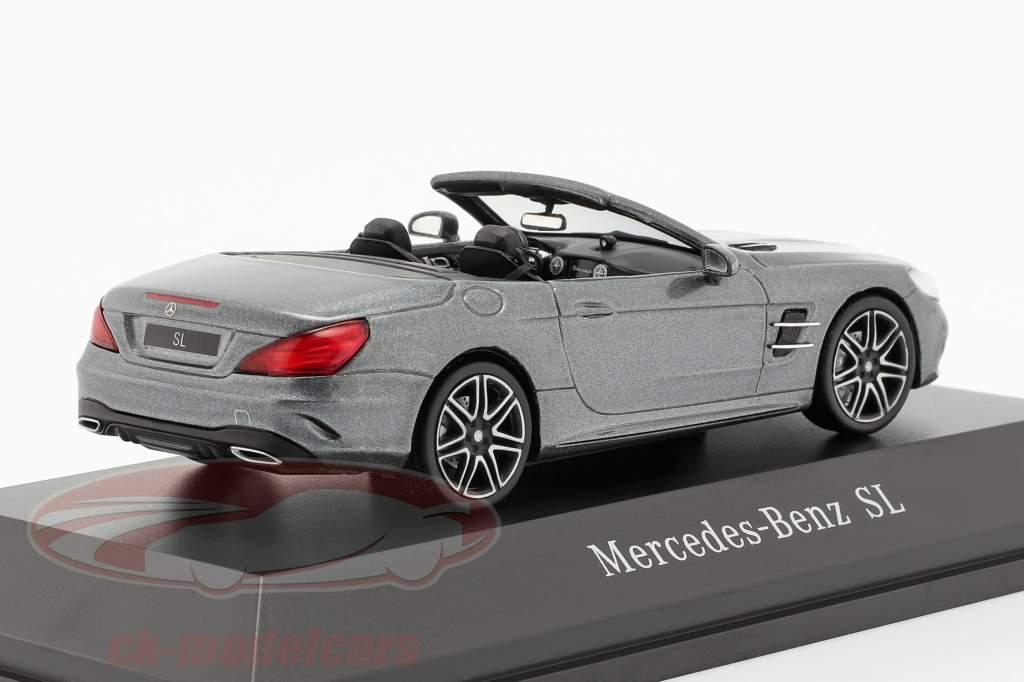 Mercedes-Benz SL MOPF R231 selenite grigio 1:43 Spark