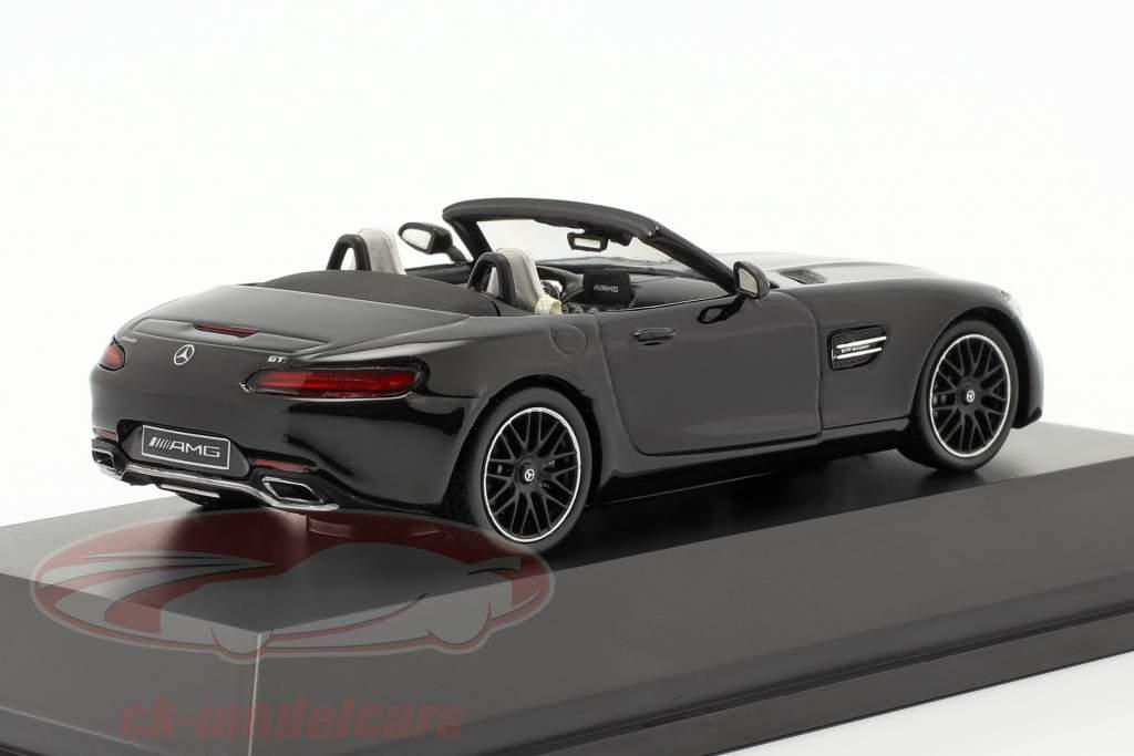 Mercedes-Benz AMG GT roadster année de construction 2017 magnétite noir métallique 1:43 Spark