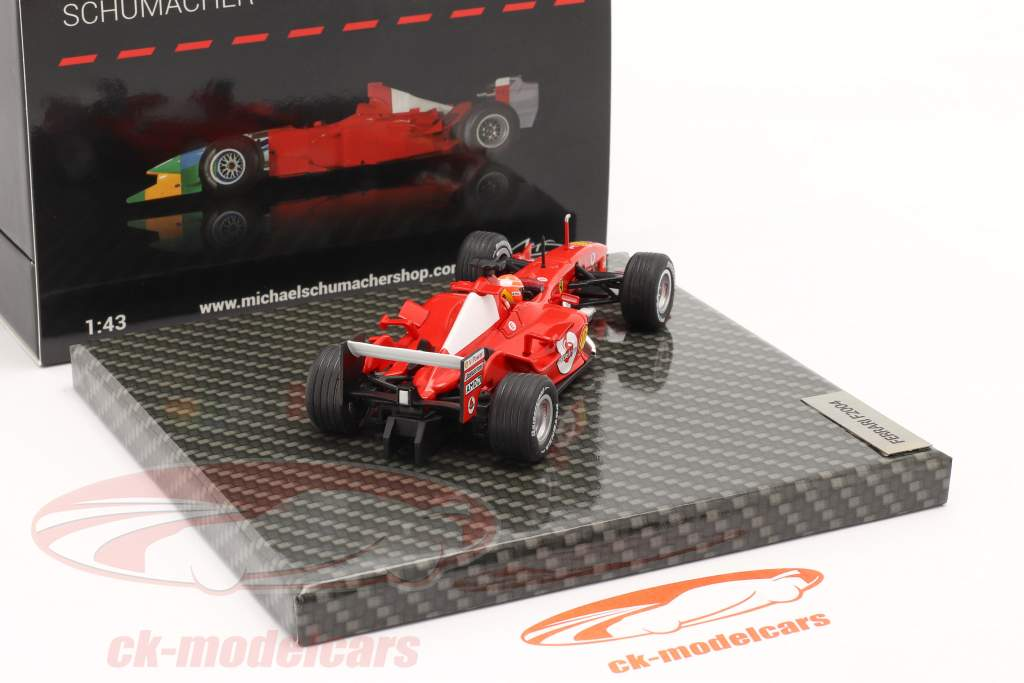 M. Schumacher Ferrari F2004 #1 gagnant Japonais GP formule 1 Champion du monde 2004 1:43 Ixo