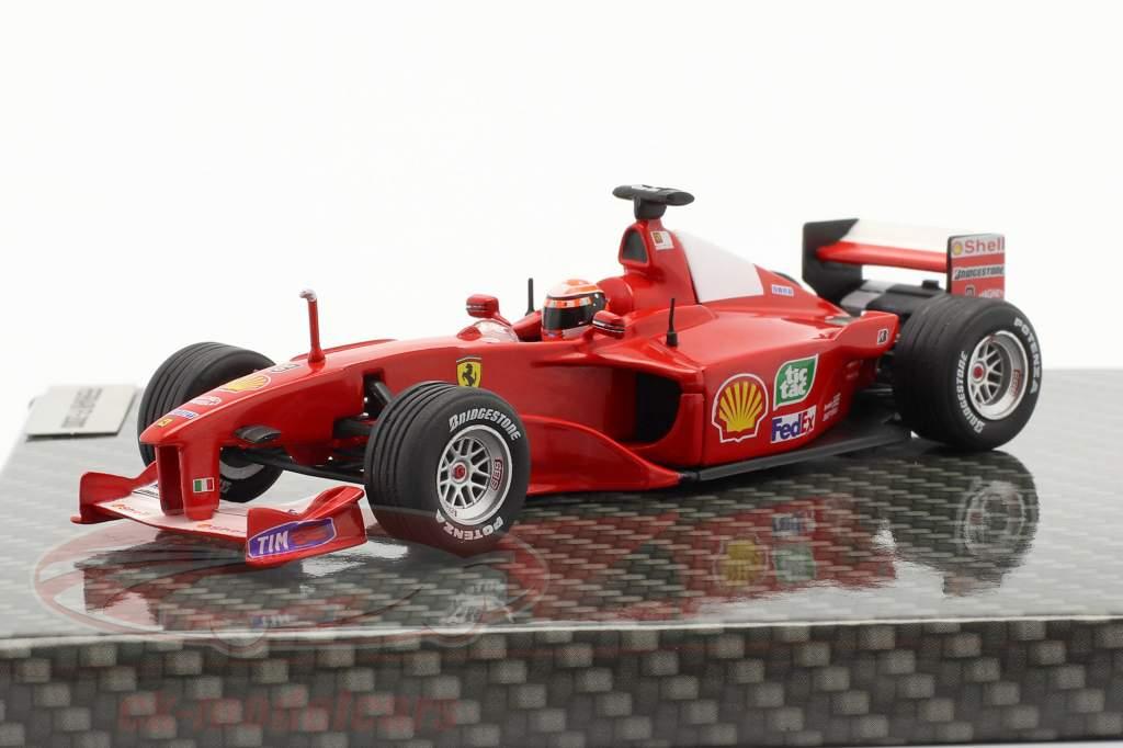 M. Schumacher Ferrari F1-2000 #3 winnaar Europese GP formule 1 Wereldkampioen 2000 1:43 Ixo