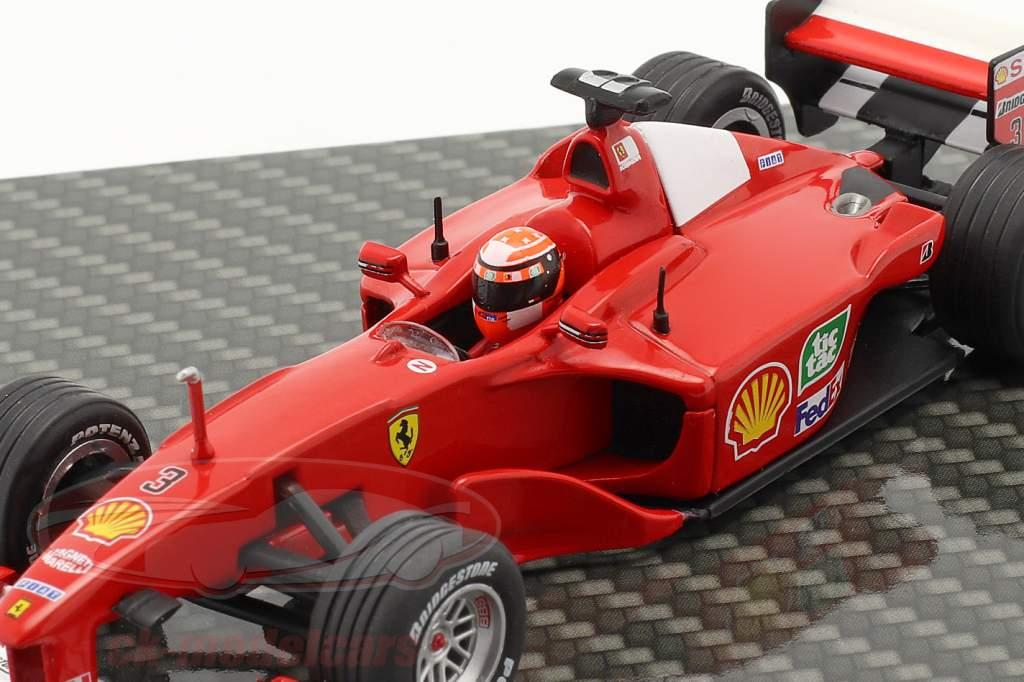 M. Schumacher Ferrari F1-2000 #3 gagnant européen GP formule 1 Champion du monde 2000 1:43 Ixo