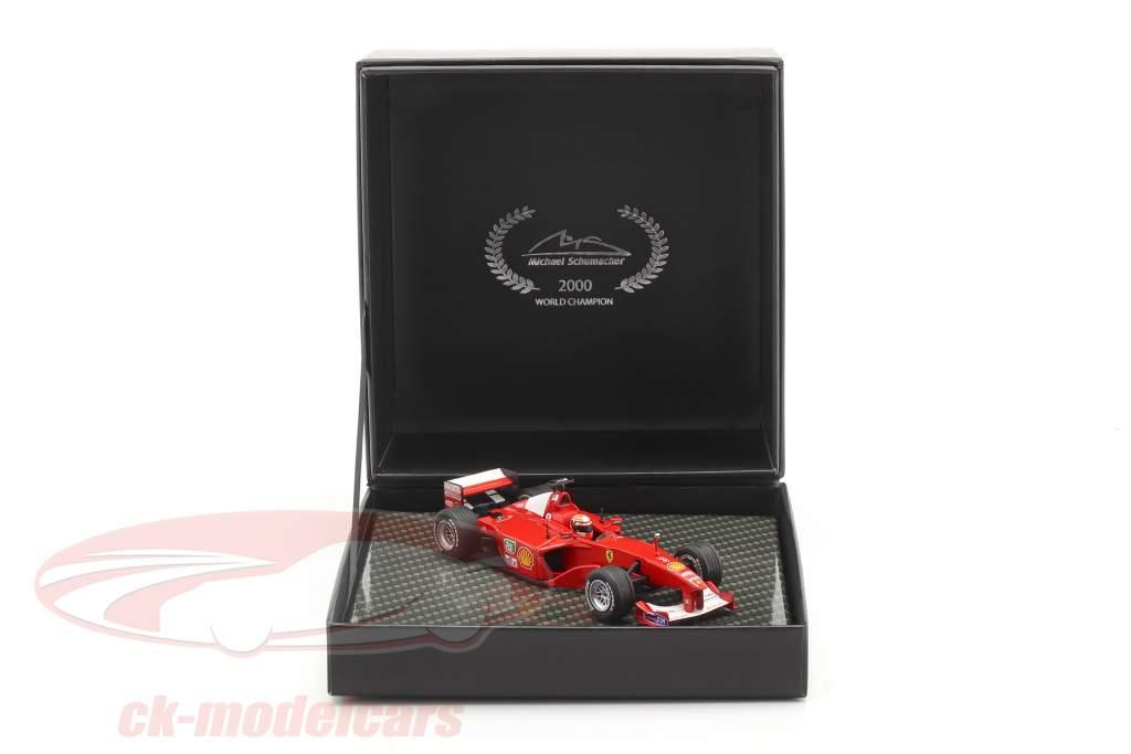 M. Schumacher Ferrari F1-2000 #3 ganador europeo GP fórmula 1 Campeón mundial 2000 1:43 Ixo