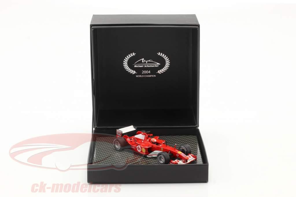 M. Schumacher Ferrari F2004 #1 vencedora japonês GP Fórmula 1 Campeão mundial 2004 1:43 Ixo