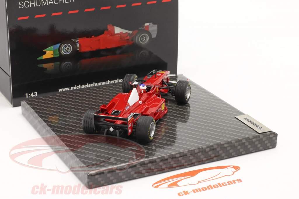 Michael Schumacher Ferrari F300 #3 winnaar Frans GP formule 1 1998 1:43 Ixo