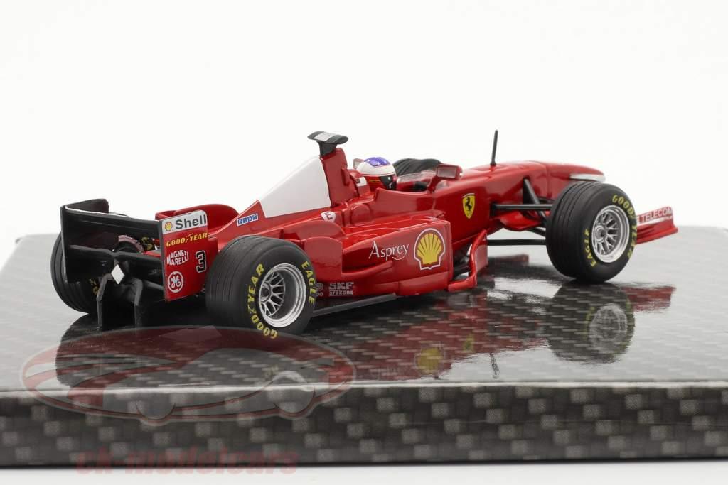 Michael Schumacher Ferrari F300 #3 vinder fransk GP formel 1 1998 1:43 Ixo