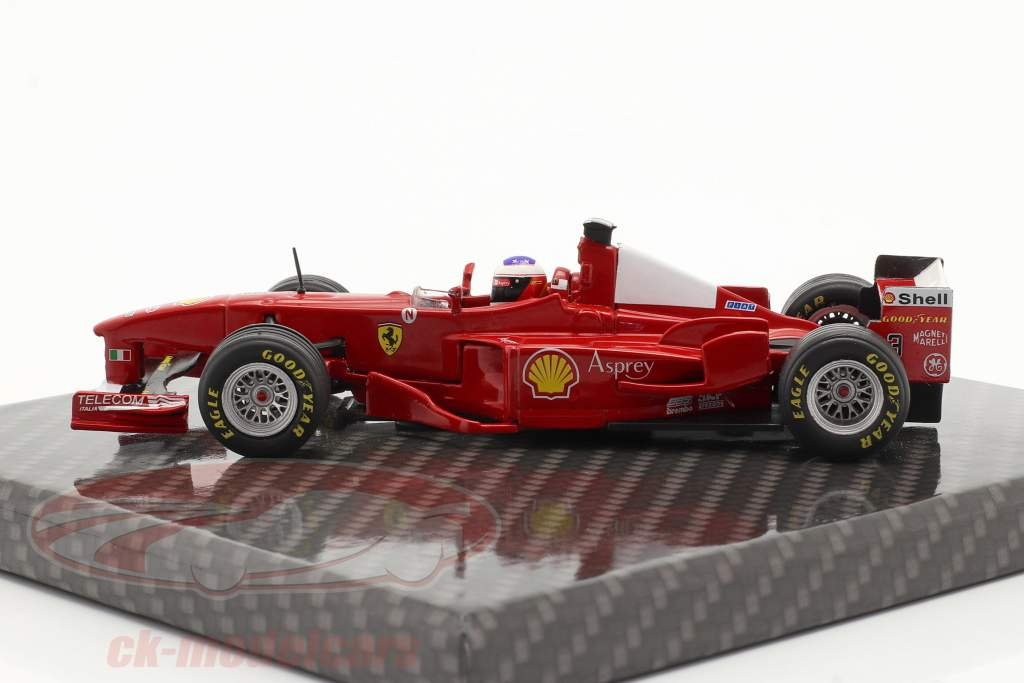 Michael Schumacher Ferrari F300 #3 gagnant français GP formule 1 1998 1:43 Ixo
