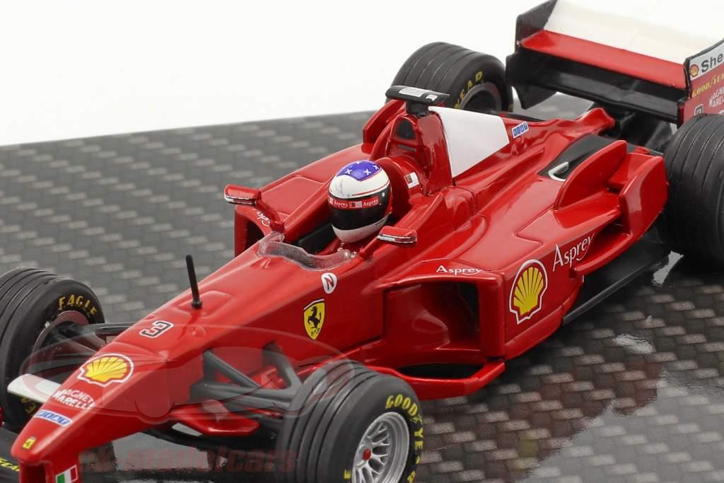 Michael Schumacher Ferrari F300 #3 Winner French GP formula 1 1998 1:43 Ixo
