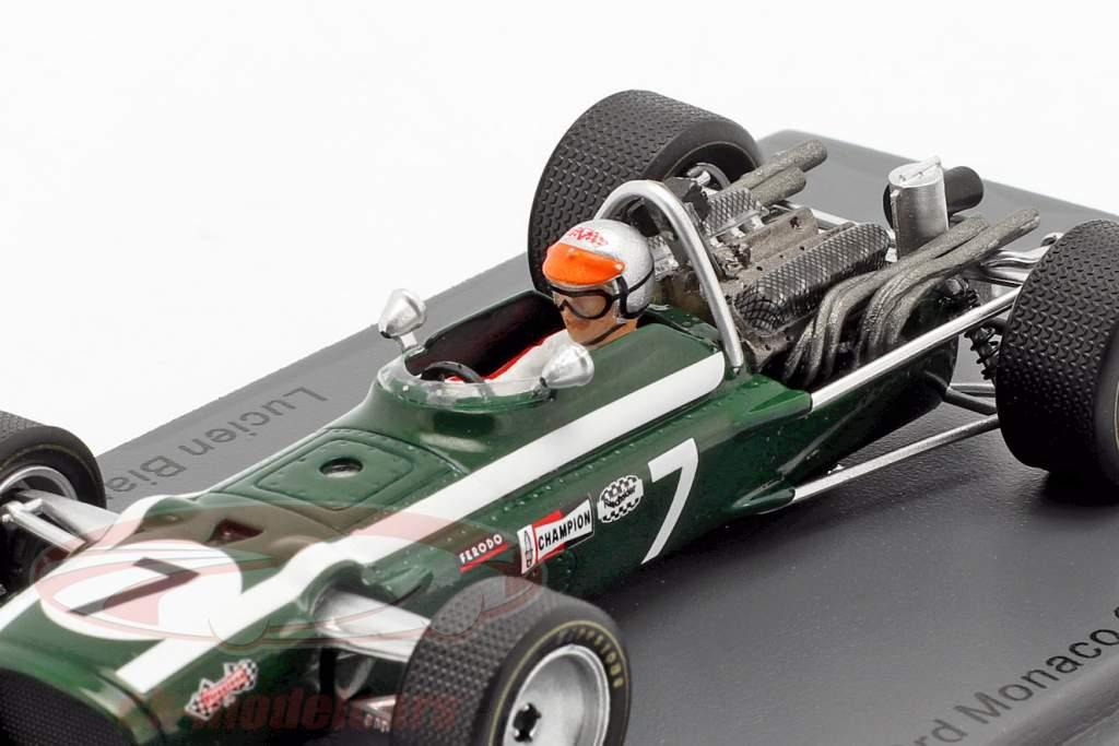 Lucien Bianchi Cooper T86B #7 3rd Monaco GP formula 1 1968 1:43 Spark