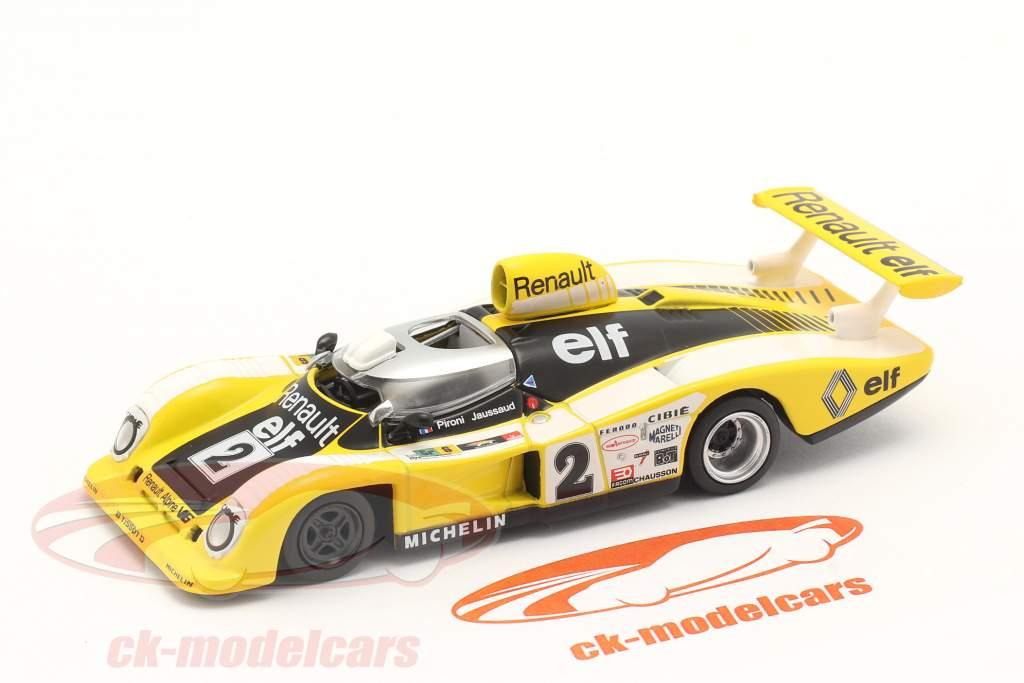 Renault Alpine A442B #2 gagnant 24h LeMans 1978 Pironi, Jaussaud 1:43 Norev