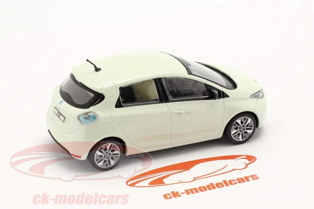 Renault Zoe Anno di costruzione 2013 bianca metallico 1:43 Norev