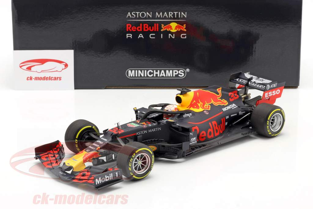 M. Verstappen Red Bull Racing RB15 #33 vincitore brasiliano GP F1 2019 1:18 Minichamps