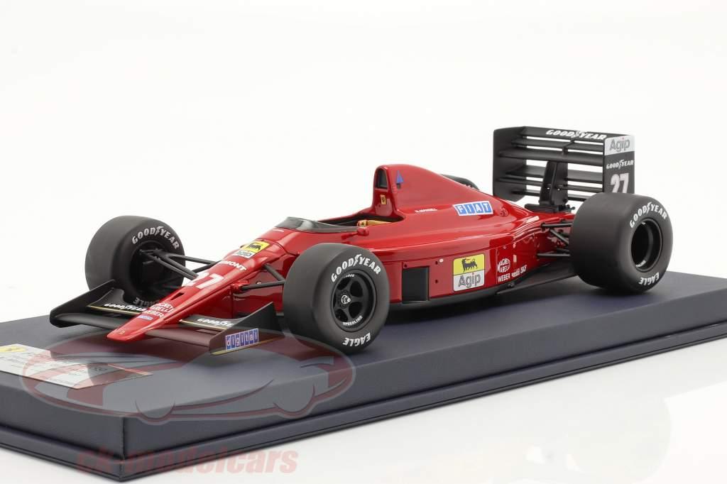 Nigel Mansell Ferrari 640 #27 vincitore Ungheria GP formula 1 1989 1:18 LookSmart