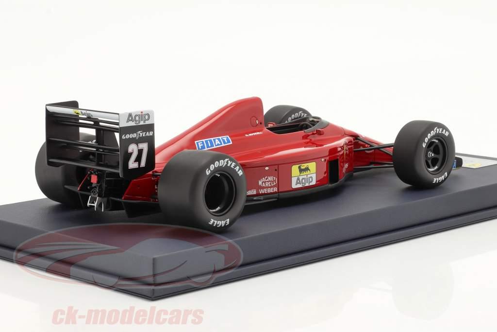 Nigel Mansell Ferrari 640 #27 ganador Hungría GP fórmula 1 1989 1:18 LookSmart