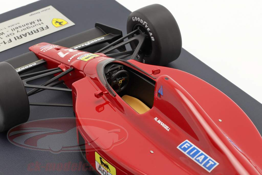 Nigel Mansell Ferrari 640 #27 Sieger Ungarn GP Formel 1 1989 1:18 LookSmart