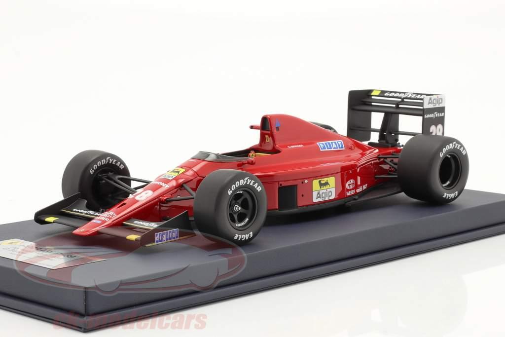 Gerhard Berger Ferrari 640 #28 vencedora Portugal GP Fórmula 1 1989 1:18 LookSmart