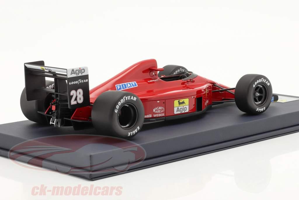 Gerhard Berger Ferrari 640 #28 gagnant le Portugal GP formule 1 1989 1:18 LookSmart