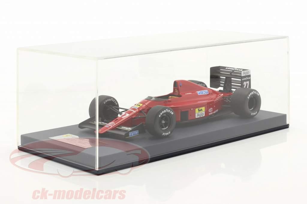 Nigel Mansell Ferrari 640 #27 vencedora Hungria GP Fórmula 1 1989 1:18 LookSmart