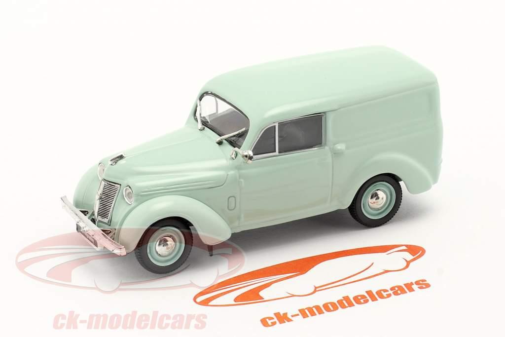 Renault Juvaquatre year 1937 mint green 1:43 Norev