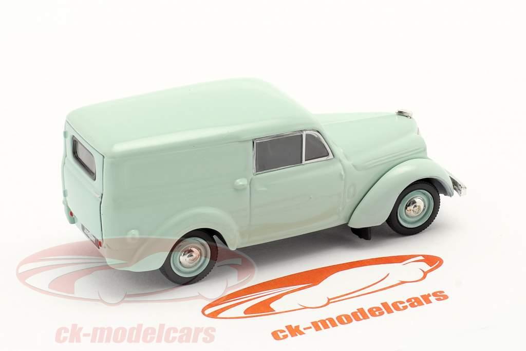 Renault Juvaquatre Año de construcción 1937 Menta verde 1:43 Norev