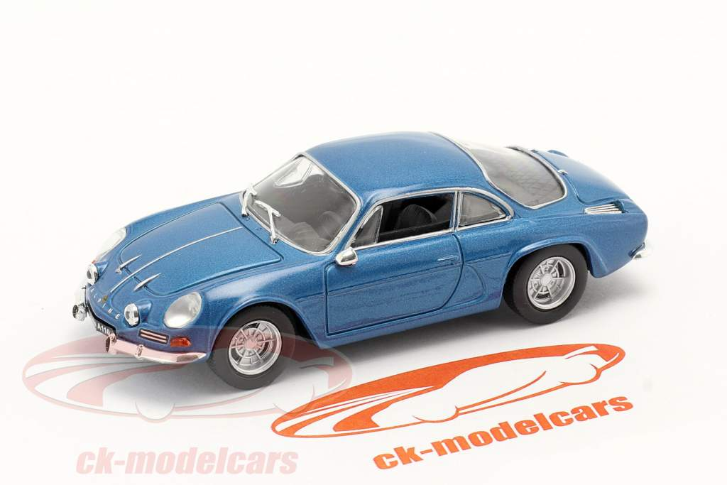 Renault Alpine A110 bouwjaar 1969 blauw metalen 1:43 Norev