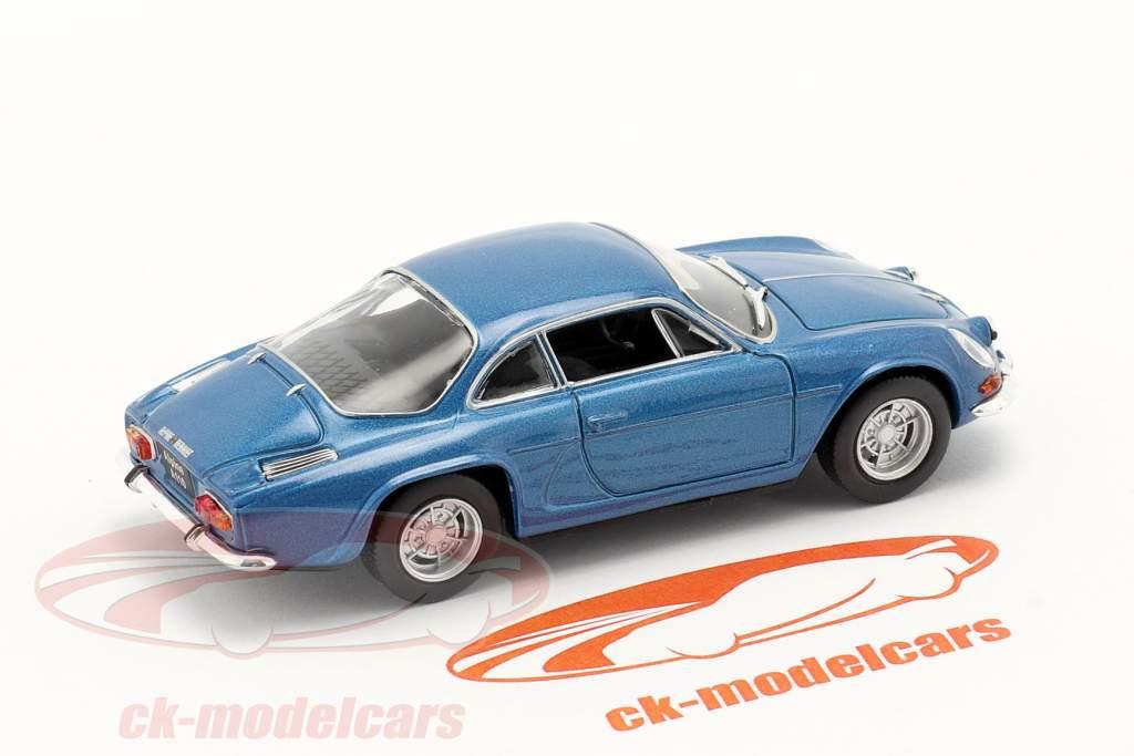 Renault Alpine A110 Byggeår 1969 blå metallisk 1:43 Norev