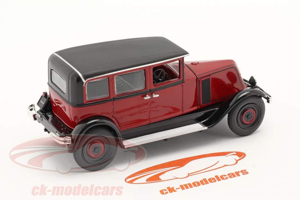 Renault Vivasix Type PG2 Año de construcción 1928 rojo / negro 1:43 Norev