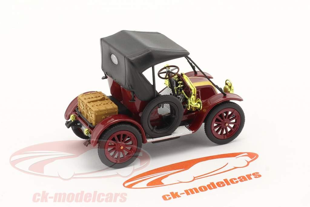Renault Type AX Baujahr 1908-1913 dunkelrot / schwarz 1:43 Norev