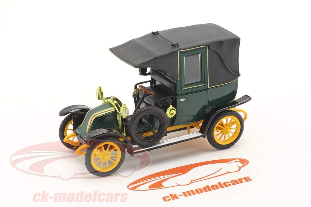 Renault Type AG year 1905-1914 green / black / yellow 1:43 Norev