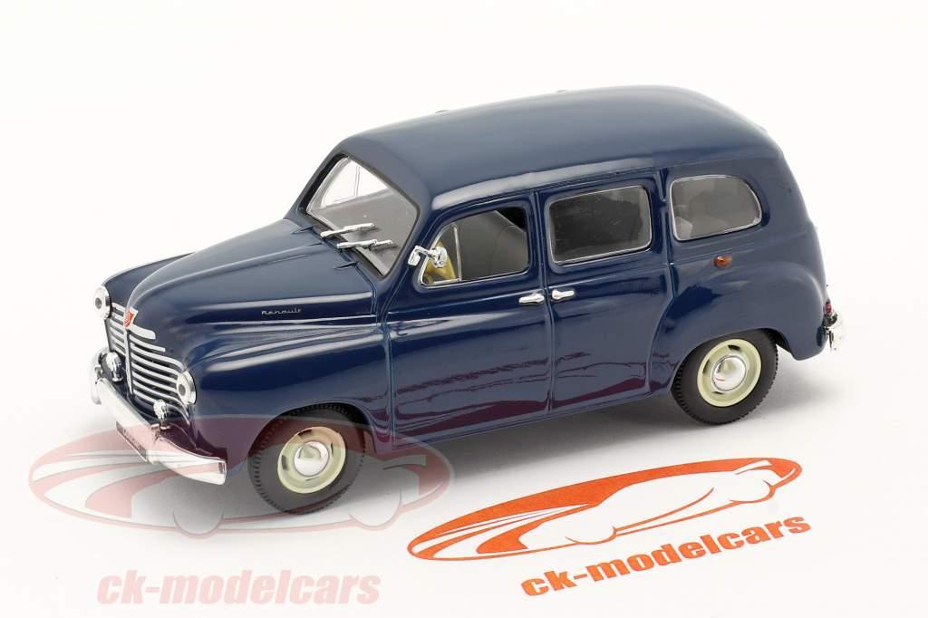 Renault Colorale Année de construction 1950-1957 bleu foncé 1:43 Norev