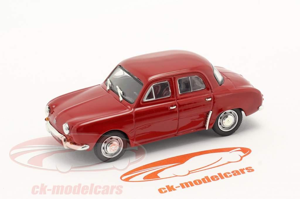 Renault Dauphine Ano de construção 1956-1968 vermelho escuro 1:43 Norev