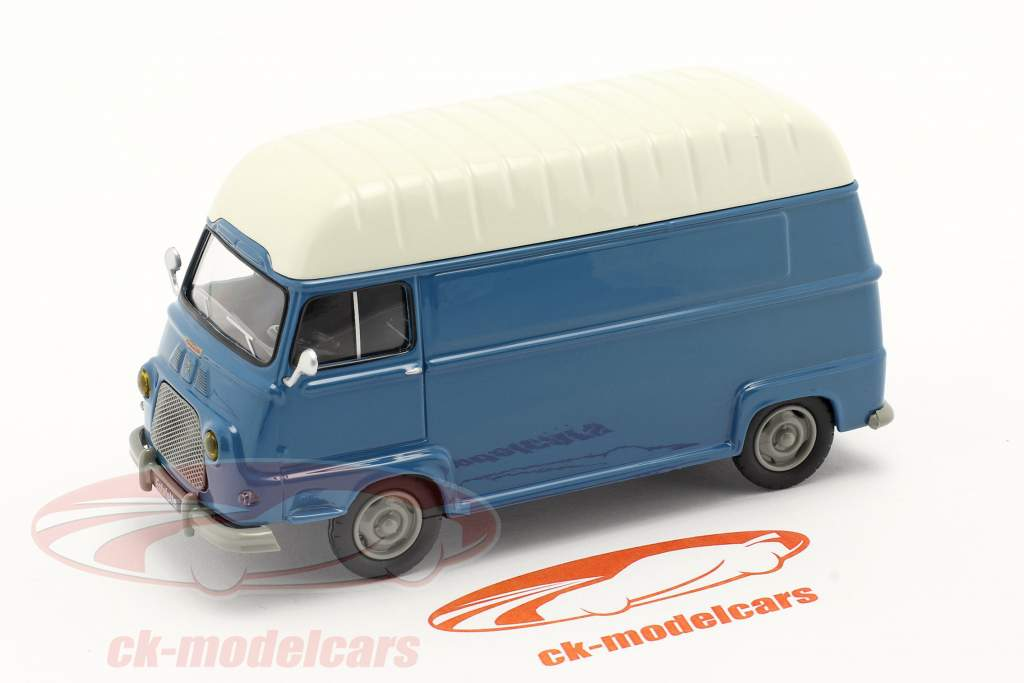Renault Estafette furgão Ano de construção 1959 azul / Branco 1:43 Norev