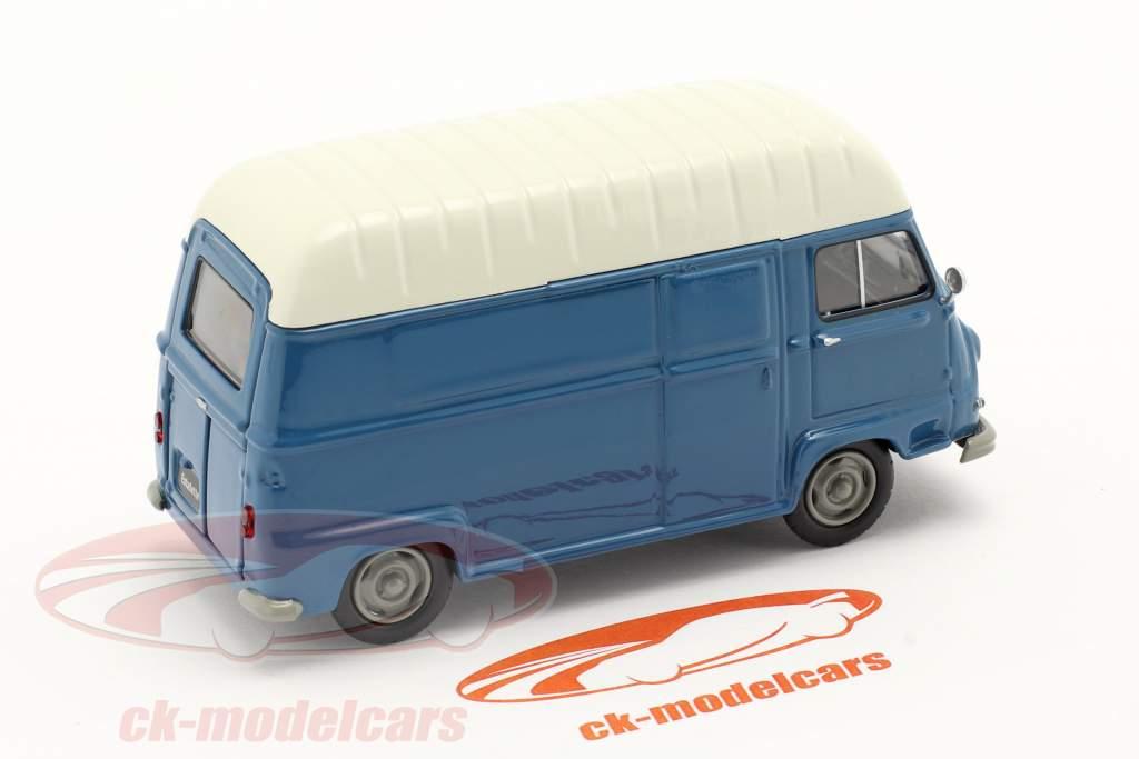 Renault Estafette Van Année de construction 1959 bleu / blanche 1:43 Norev